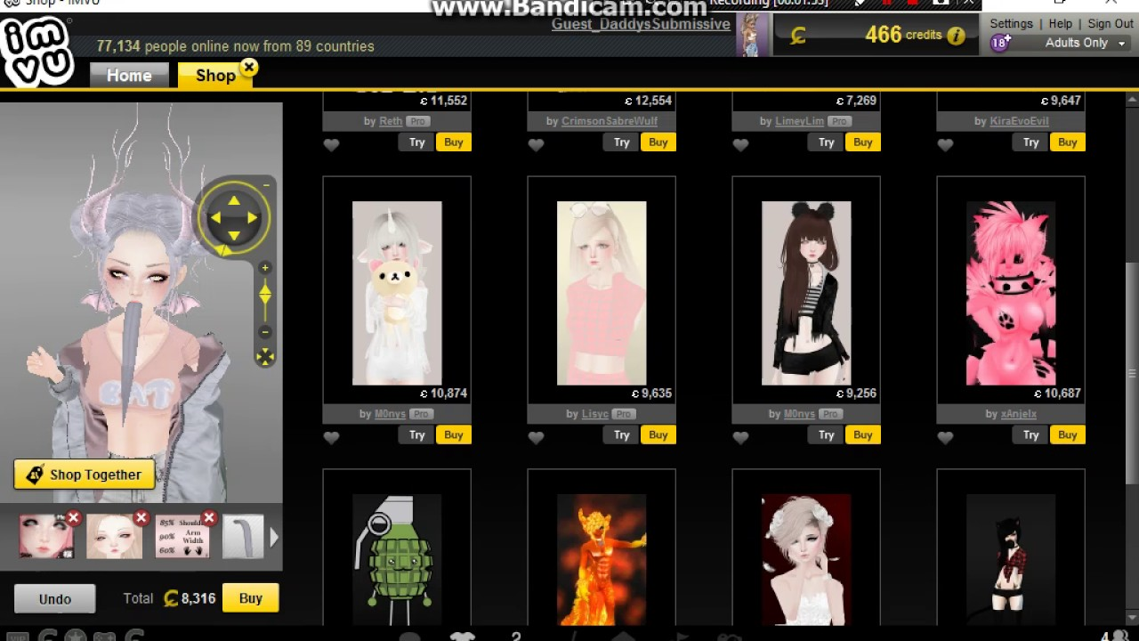 Outfit Hack ~IMVU~ Part 2 NO VIP ON THIS ACC