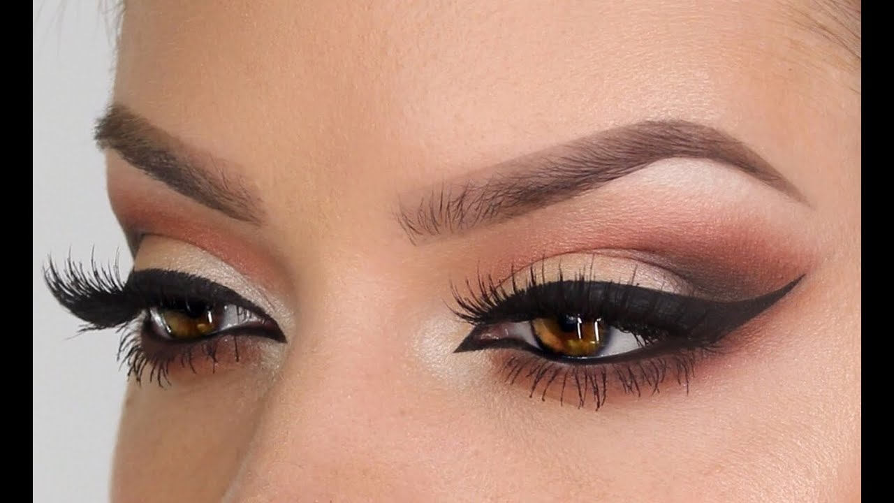 smoky peach prom makeup intense smoky eye tutorial