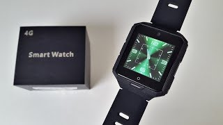 Best Battery Life So far.... M9 4G Smart Watch Review - 850mAH - Android 6