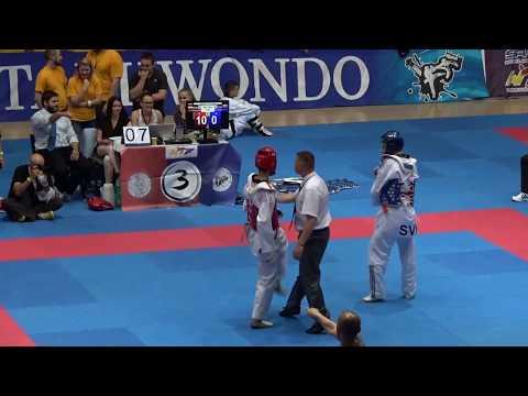Bratislava Open 2017 - Taekwondo - Seniors Male A #02