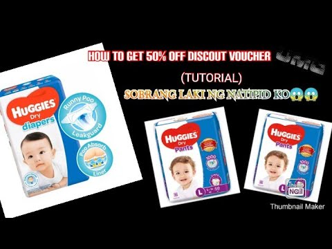 How to get 50% off voucher in Huggies PH (SHOPEE) September 2020 updated | Joyce Vlogs