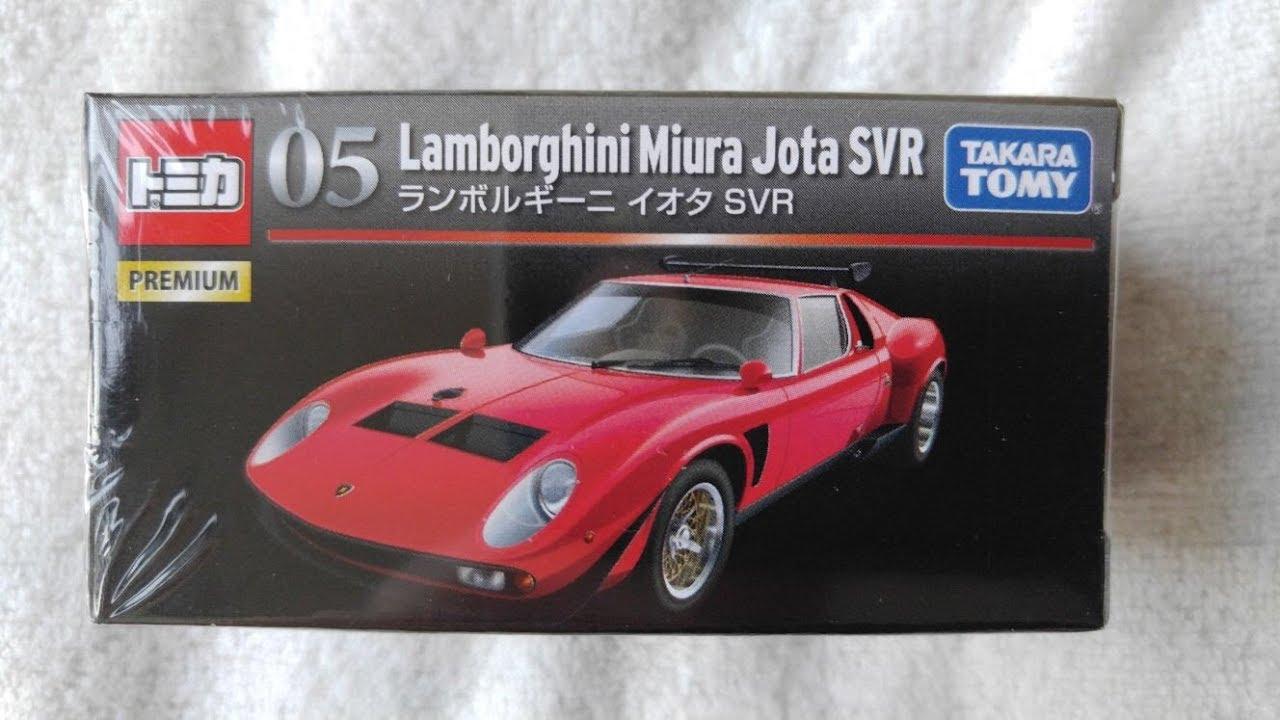 トミカ Takara Tomy Tomica Premium 05 Lamborghini Miura Jota Svr By