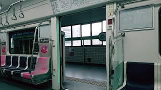 2호선 신차 206편성 출입문계폐영상