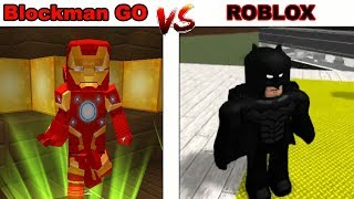 Blockman Go Hero Tycoon 2 vs Roblox Super Hero Tycoon - Gameplay Walkthrough (Android , iOS)