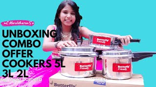 Butterfly Pressure  Cooker / Cooking Village Food
