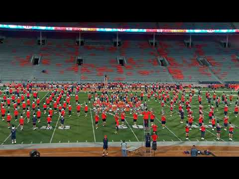 Marching Illini Hats & Spats Rehearsal | September 1, 2017