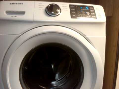 Samsung Wf42h Aw A2 Front Load Washing Machine Spin