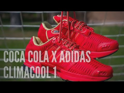 new style 3efdc 6d8b9 COCA COLA x ADIDAS CLIMACOOL 1 SNEAKERS T