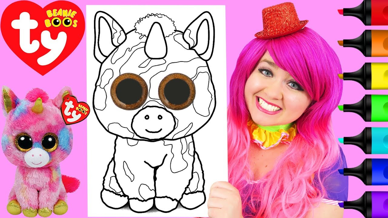 Beanie Boo Coloring Pages Only
