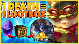 Every time I DIE I have to buy a LOOTBOX (GEMSTONE LUCK) - BunnyFuFuu | League of Legends