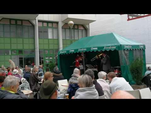 Jazz concerto in Jómfrúin café, Reykjavik