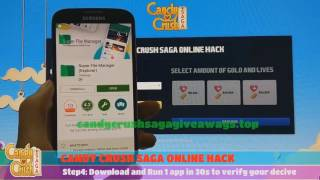 Candy Crush Hack - How To Hack Candy Crush Saga | Unlimited Gold and Lives (android&ios)