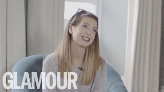 Zoella Exclusive Glamour Interview by Little 9 Year Old Fan | Glamour UK