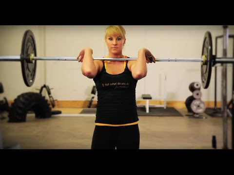 How To Barbell Clean