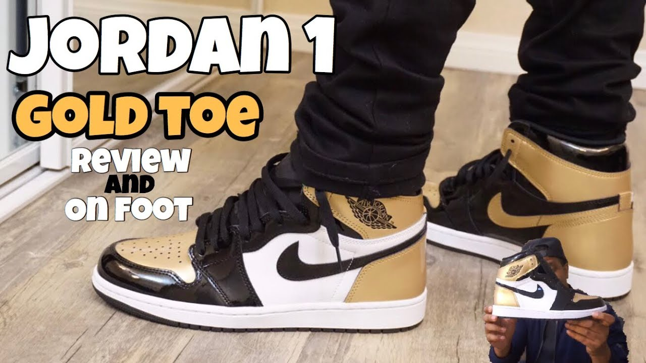 the latest e6ca7 1151b Jordan 1 Gold Toe Review + On Foot