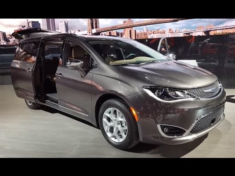 2017 chrysler pacifica review walkaround features. Black Bedroom Furniture Sets. Home Design Ideas