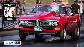 homepage tile video photo for Day 3 - HOT ROD Drag Week 2021 Livestream REPLAY