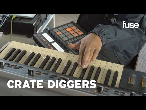 Get A Peek Inside Producer Nobody's Work Space | Crate Diggers