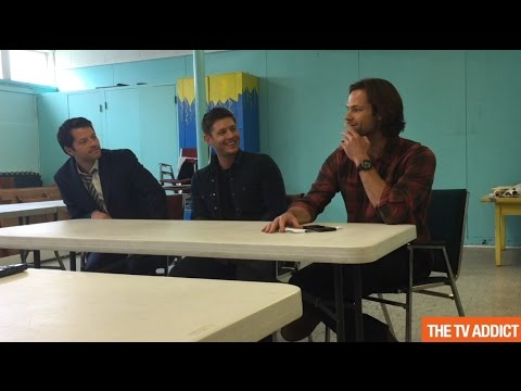 Supernatural Set Visit 2016  Jensen Ackles, Jared Padalecki & Misha Collins Outtakes
