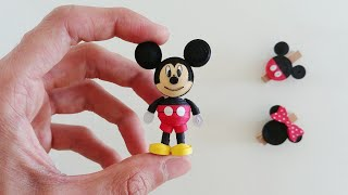 How To Make 3D Quilling Mickey Mouse/Artoholic/3D Quilling