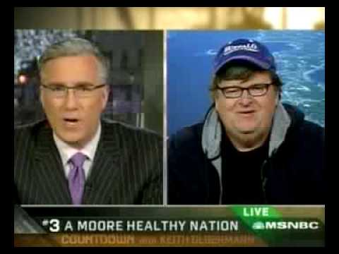 Michael Moore Talks SiCKO & Tobacco on Keith Olbermann