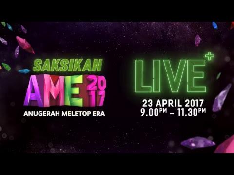Anugerah MeleTOP ERA 2017 Live Stream #AME2017