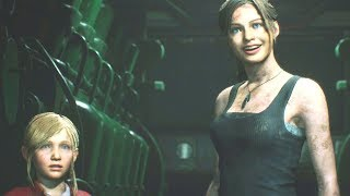 Resident Evil 2 Remake - Claire A: All Cutscenes