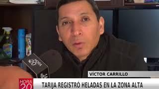 TARIJA REGISTRÓ HELADAS EN LA ZONA ALTA