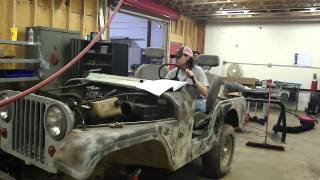 1965 Jeep CJ-5 re-building