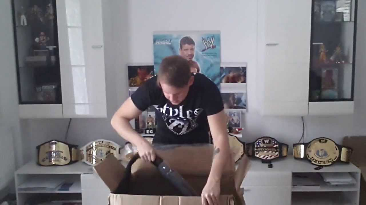 wwe championship unboxing deutsch german youtube. Black Bedroom Furniture Sets. Home Design Ideas