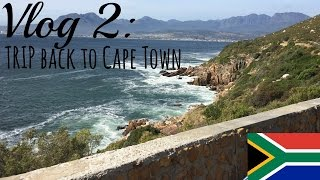 Vlog 2: Trip back to Cape Town 🇿🇦