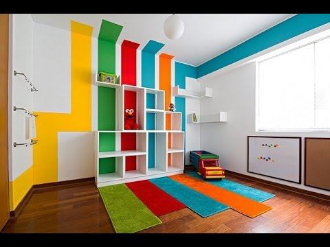 Creative painting ideas for walls youtube for Home painting design ideas