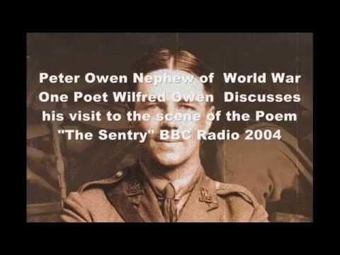 Peter Owen Nephew of Wilfred Owen WW1 War Poet Interview  2004