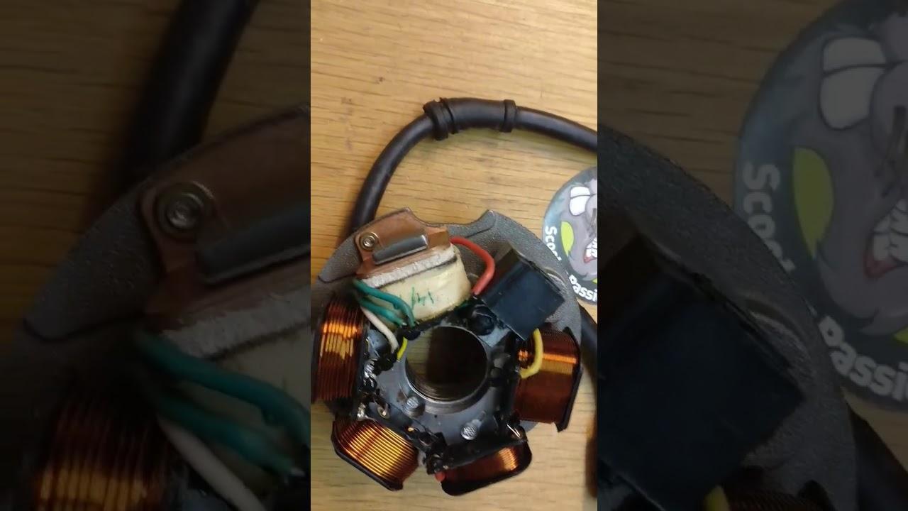 Test Allumage Stator Piaggio Vespa Px Pk Onsteking Youtube Keeway 50 Wiring Diagram