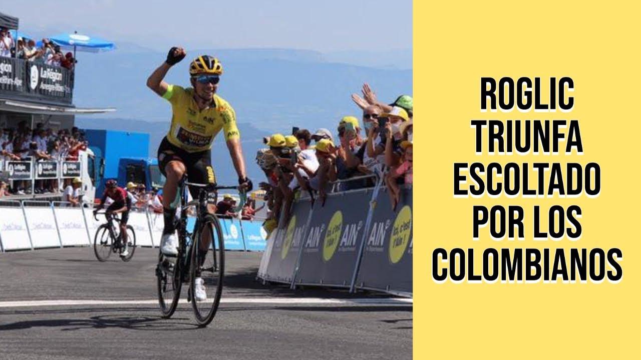 Roglic gana fácil, Egan y Nairo terminan en el podio | Resumen etapa 3 Tour de l'Ain 2020