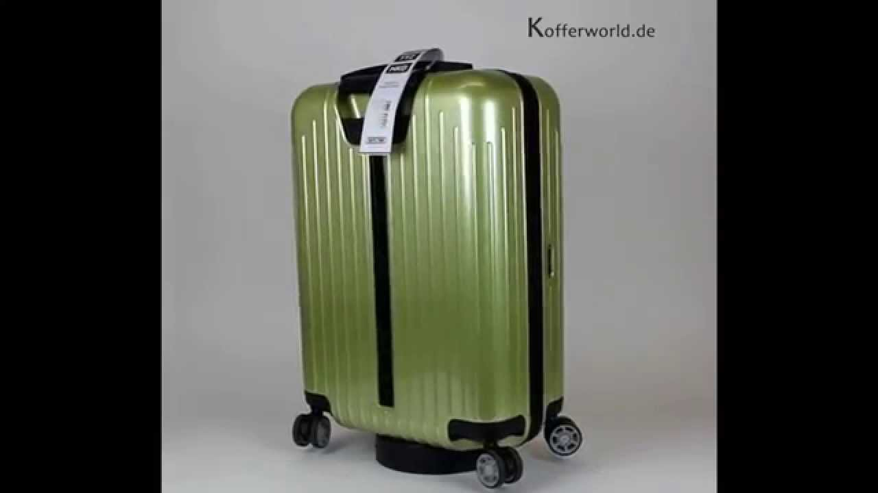rimowa salsa air lime green koffer youtube. Black Bedroom Furniture Sets. Home Design Ideas