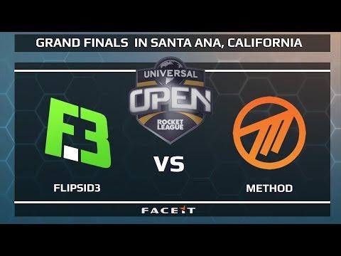 FlipSid3 vs Method - WB SEMI FINAL - Universal Open Rocket League Grand Finals