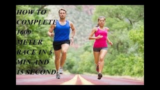 How To Complete 1600 Meter Race In Hindi || Complete 1600 Meter Race - Fitness Novice