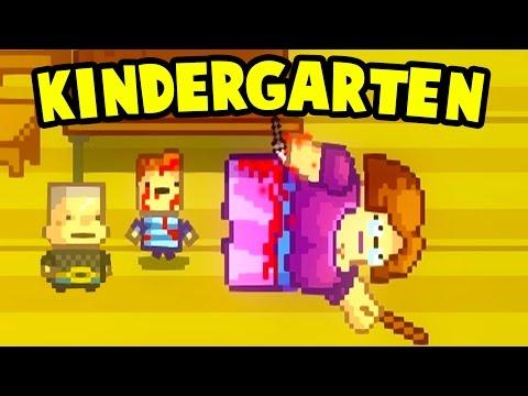 Kindergarten  - WE STABBED THE TEACHER IN THE BUTT! Buggs' Quest - Kindergarten Gameplay Part 5