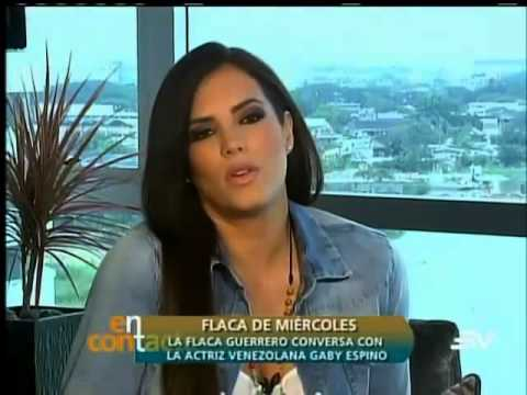 Gaby Espino En #EnContacto En Flaca De Miercoles Parte: 1