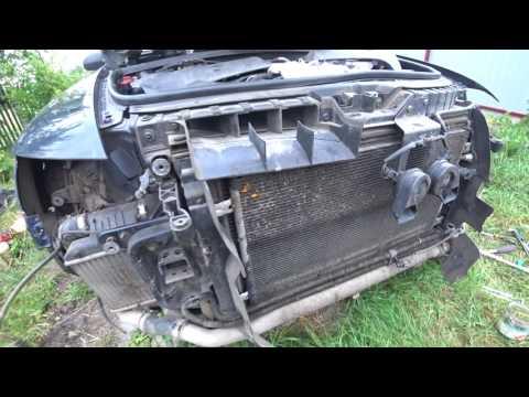 Как снять телевизор (рамку радиаторов) и генератор Audi A6 C6 3.0 TDI. + Немного лишней болтовни.