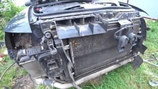 как снять телевизор (рамку радиаторов) и генератор Audi A6 C6 3.0 TDI.  Немного лишней болтовни