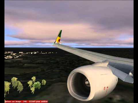 CAMEROON - DOUALA LANDING - CAMAIR CO 737 700