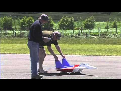 Fly-Fly Mig 29 Foamie RC plane with turbine engine