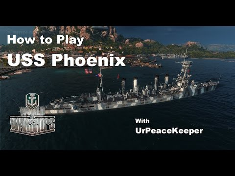 How To Play The USS Phoenix In World Of Warships
