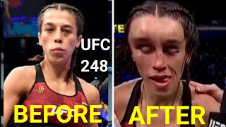 UFC 248: Weili Zhang Vs Joanna Jedrzejczyk Highlights. Nasty Head Injury at UFC 248.