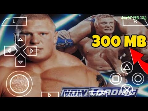 How To Download & Install Smackdown Pin Iso Game For Android With Proof