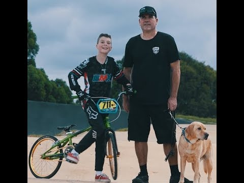 Meet Noah.  The brave, bold and legally blind teenage BMX racer.