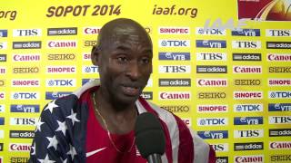 Sopot 2014 - Bernard LAGAT - USA - World Indoor Championships