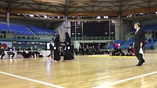 Kendo Open de France 2020 Final - Korea 2 (Korea) - Keio University (Japan)